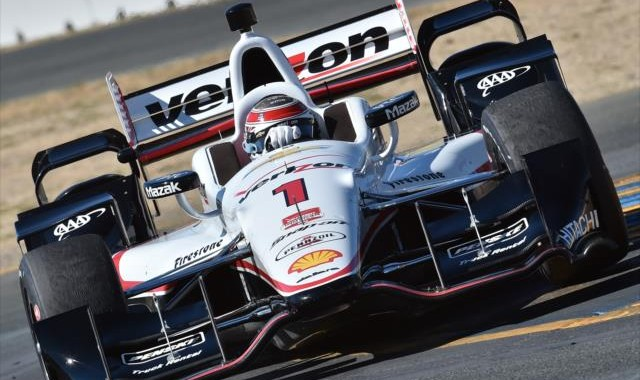 INDYCAR 2015  SONOMA 29 AOUT-  WILL POWER Team ROGER PENSKE