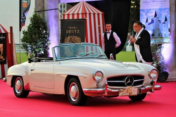 LA BAULE 14 Août 2015 Hommage au 60 ans de la Mercedes Benz 190SL Photo Emmanuel LEROUX.