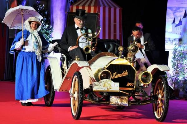 LA BAULE 2015 Catégorie Ancètres pour cette Hupmobile de 1909 Photo Emmanuel LEROUX