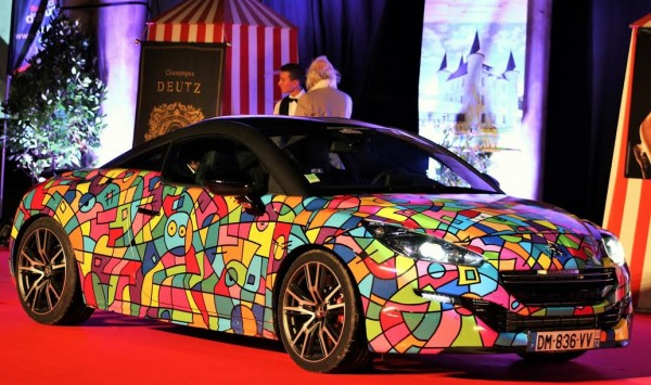 LA BAULE 2015 Peugeot RCZ ART CAR Photo EmmanuelLEROUX