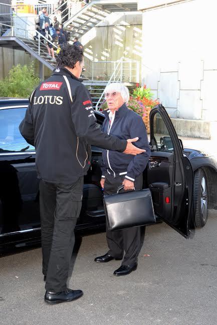 LOTUS F1 - Lotus espère-t-il que Bernie vole à son secours-© Manfred GIET.