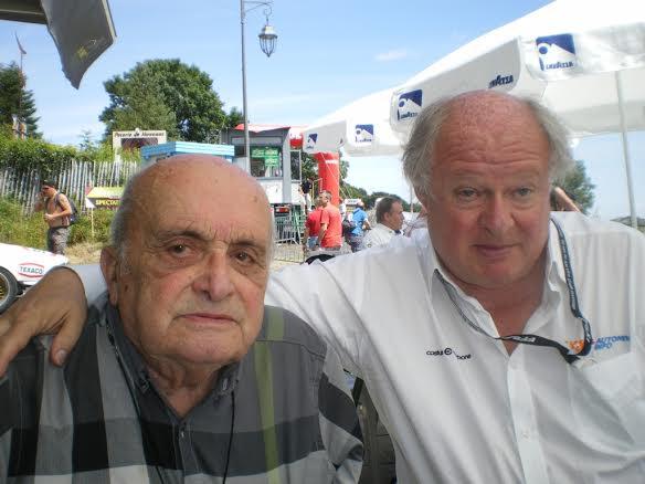 MONT-DORE-Aout-2014-Le-Docteur-Yves-AURIACOMBE-organisateur-et-longtemps-maire-du-MONT-DORE-avec-Gilles-GAIGNAULT-Photo-Jean-Paul-CALMUS