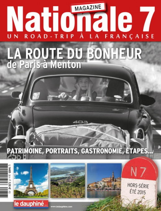 NATIONAL 7  MAGAZINE ete 2015 du DAUPHINE