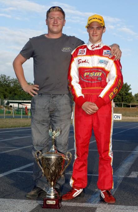 KARTING. Pierre Gilbert AU cHAMPIONNAT du monde de karting FA en 2006 avec Nelson PANCIATICI