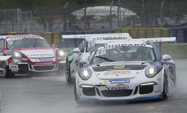 PORSCHE CARRERA CUP 2015 LE MANS - JAMINET -GOUNON - DE NARDA - Photo Thierry COULIBALY