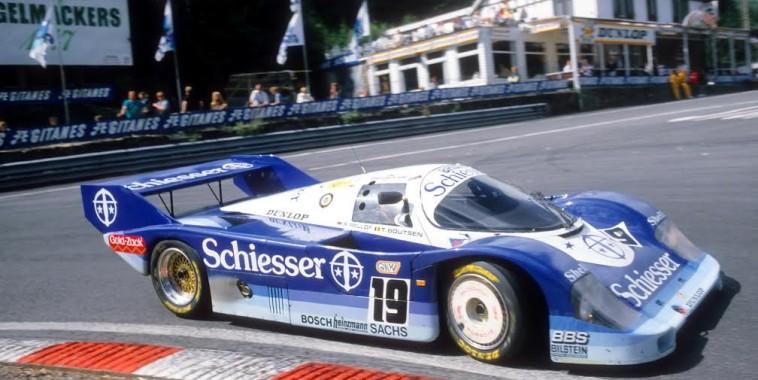 Stefan-BELLOF-1000-KM-SPA-1985-Porsche-956-Son-dernier-passage-au-virage-de-la-Source-avant-l'accident-fatal-©-Manfred-GIET
