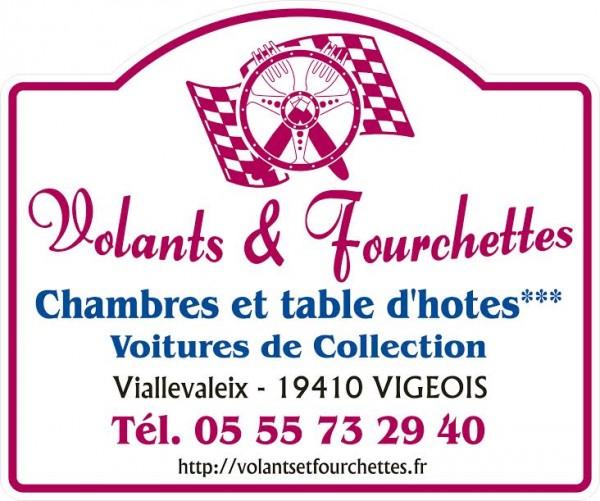 VOLANTS ET FOURCHETTES  Le logo