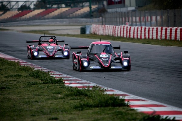 Vde V 2014 BARCELONE - Les LIGIER OAK Racing - Photo Maurice CAMUS