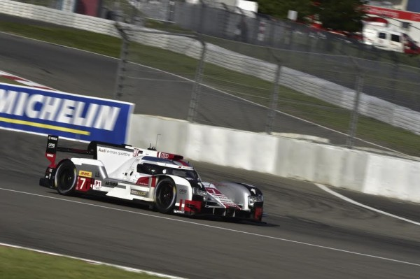 WEC 2015 NURBURGRING - AUDI N° 7 - Photo Max MALKA