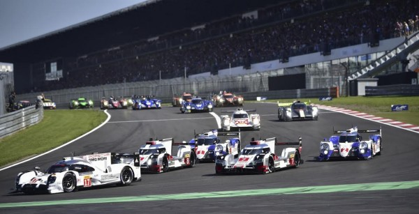 WEC 2015 NURBURGRING Le depart Photo Max MALKA.
