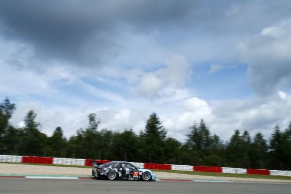WEC 2015 NURBURGRING Porsche 911 RSR N°77 Dempsey Racing Proton Marco Seefried et Patrick Dempsey