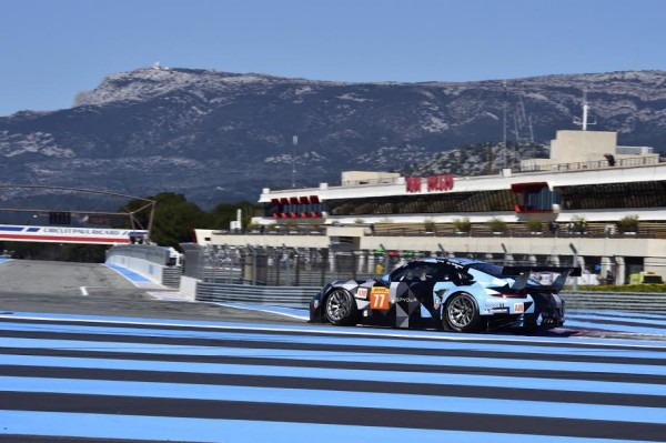 WEC-2015-PAUL-RICARD-Prologue-27-mars-La-PORSCHE-77-du-DEMPSEY-PROTON-Racing-de-Patrick-LONG-Marco-SEEFRIED-Photo-Max-MALKA