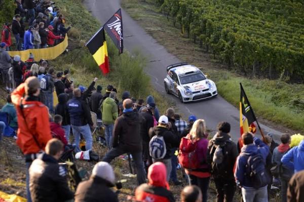 WRC 2014 ALLEMAGNE - Andreas MIKKELSEN