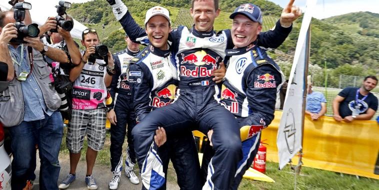 WRC 2015 ALLEMAGNE Le triplé à la maison