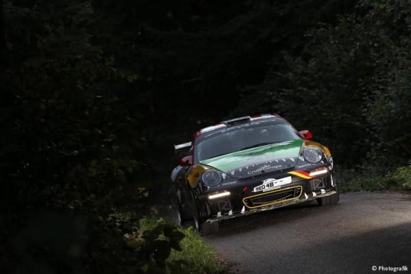 WRC-2015-ALLEMAGNE-LaPORSCHE de Romain Dumas - Denis Giraudet, Porsche 911 GT3