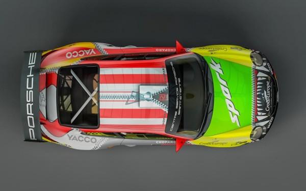 WRC 2015 ALLEMAGNE - La PORSCHE de ROMAIN DUMAS