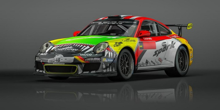 WRC 2015 ALLEMAGNE La PORSCHE de ROMAIN DUMAS