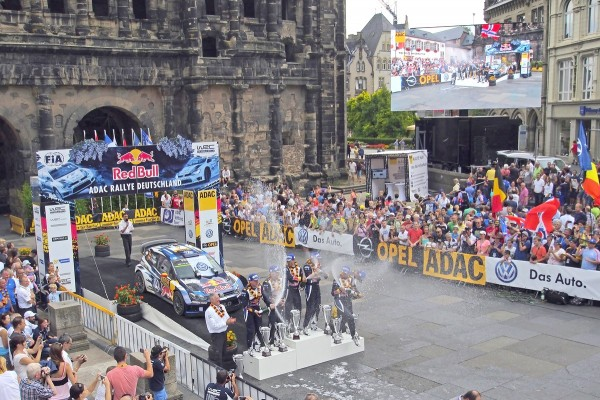 WRC-2015-ALLEMAGNE-Podium_Porta-Nigra_Trèves