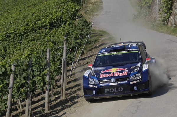 WRC 2015 Avant Rallye ALLEMAGNE - VW POLO WRC de JARI MATTI LATVALA