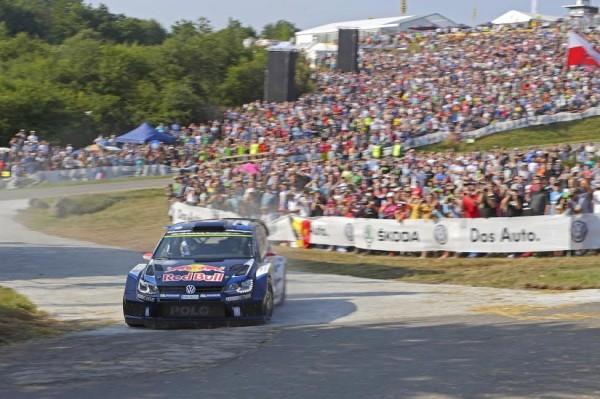 WRC 2015 ALLEMAGNE VW POLO WRC LATVALA ANTILLA