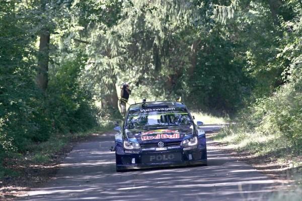 WRC 2015 Avant Rallye ALLEMAGNE - VW POLO WRC de SEB OGIER