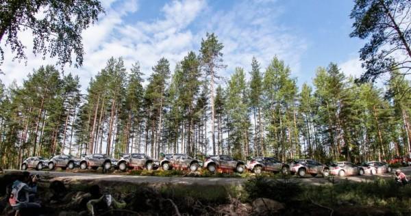 WRC-2015-FINLANDE- La DS3 DE MADS OSTBERG.