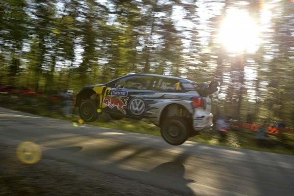 WRC 2015 FINLANDE - La VW POLO WRC de SEB OGIER