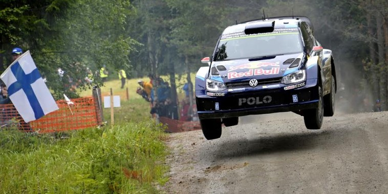 Jari-Matti Latvala (FIN), Miikka Anttila (FIN) Volkswagen Polo R WRC (2015) WRC Rally Finland 2015