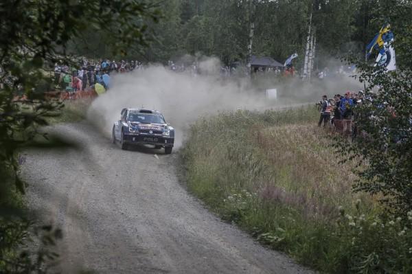WRC 2015 FINLANDE POLO VW de JARI MATTI LATVALA