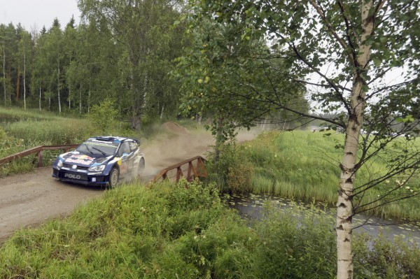Sébastien Ogier (F), Julien Ingrassia (F) Volkswagen Polo R WRC (2015) WRC Rally Finland 2015