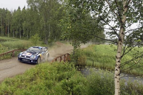 WRC 2015 FINLANDE POLO VW de Seb OGIER