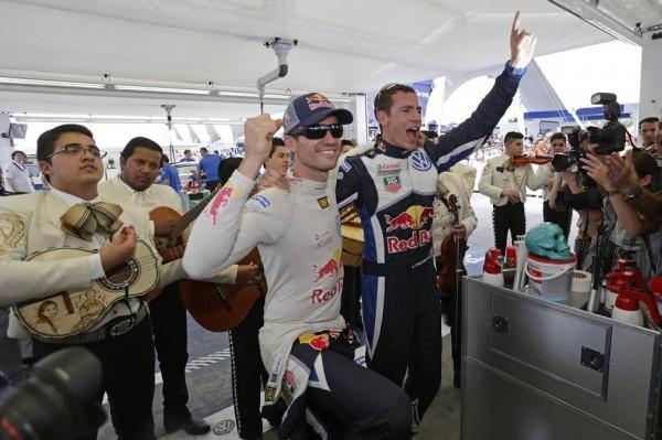 WRC 2015 MEXIQUE - victoire pour la paire OGIER INGRASSIA