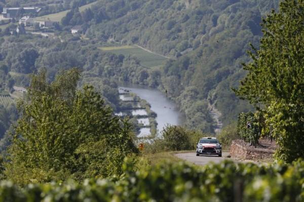 WRC 2015 ALLEMAGNE DS3 CITROEN de MADS OSTBERG