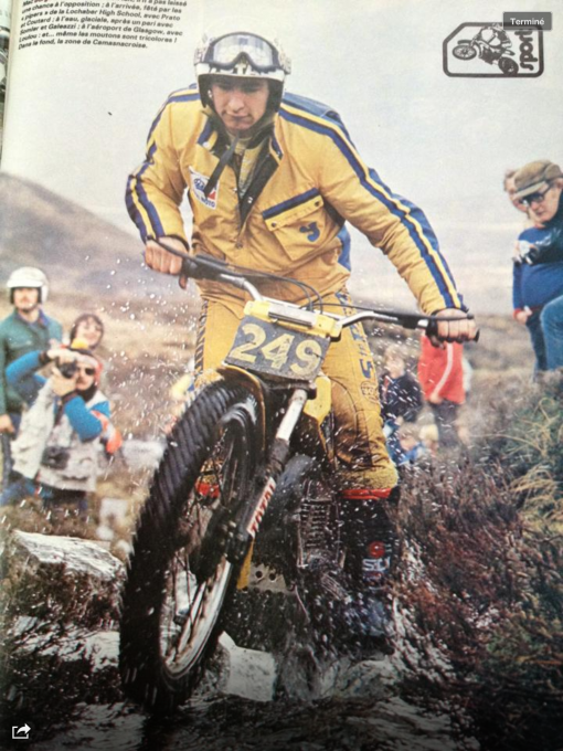 GILLES BURGAT AU SCOTTISH DE 1981