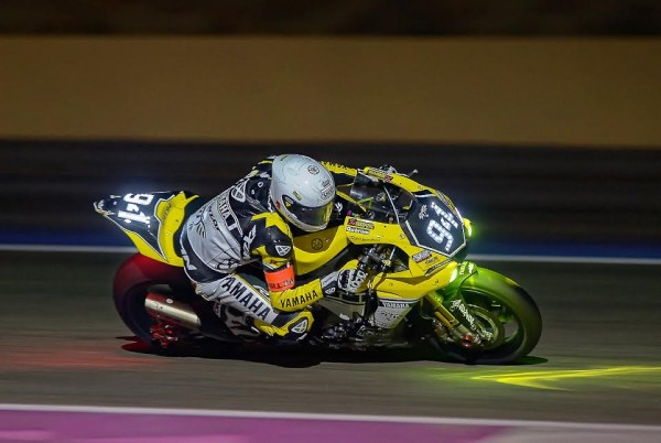 BOL D OR 2015 PAUL RICARD -La YAMAHA GMT 94 fonce dans la nuit - Photo Antoine CAMBLOR