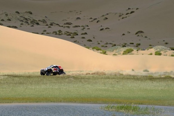 CHINA SILK ROAD RALLY 2015 - Le 2008 DKR PEUGEOT.