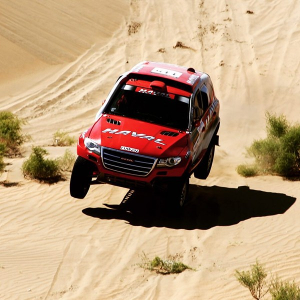 CHINA SILK ROAD RALLY 2015 Le HAVAL de Christian LAVIEILLE