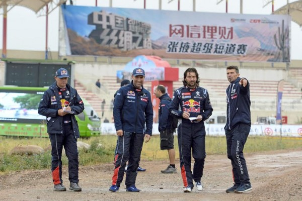 CHINA SILK ROAD RALLY 2015 le quarteron des PEUGEOT BOYS
