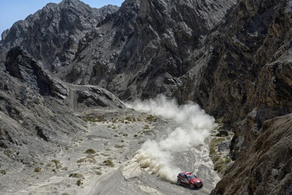 CHINA SILK ROAD RALLY Christian LAVIEILLE -Jean Pierre GARCIN et leur HAVA Photo Eric Vargiolu / DPPI