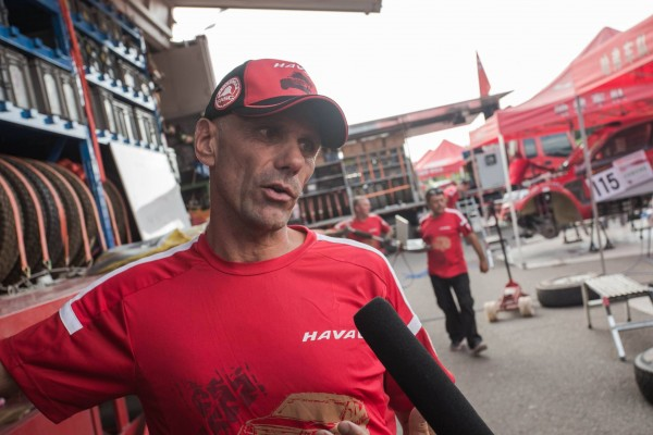 CHINA SILK ROASD RALLY 2015 - Team HAVAL - Christian LAVIEILLE portrait