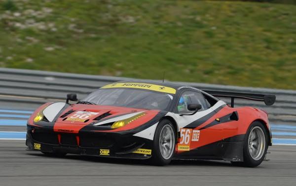 ELMS-2015-Circuit-PAUL RICARD-FERRARI 458-N°56- AT Racing - TALKANITSA- Pier GUIDI - Photo-Antoine CAMBLOR