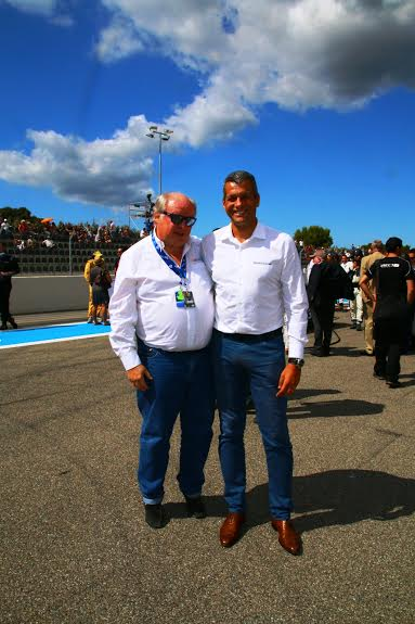 ELMS-2015-PAUL-RICARD-6-septembre-GILLES-GAIGNAULT-et-STEPHANE-CLAIR-Directeur-du-circuit-PAUL-RICARD-Photo-Jean-Francois-THIRY