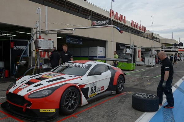 ELMS 2015 PAUL RICARD -ASTON MARTIN Team MASSIVE - Photo Antoine CAMBLOR