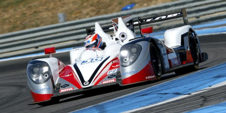 ELMS 2015 PAUL RICARD  La GIBSON N° 38 décroche la pole avec Harry TINCKNELL  Photo Alain RAGU
