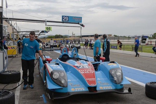 ELMS 2015 PAUL RICARD -La MORGAN de l equipe PEGASUS - Photo Antoine CAMBLOR