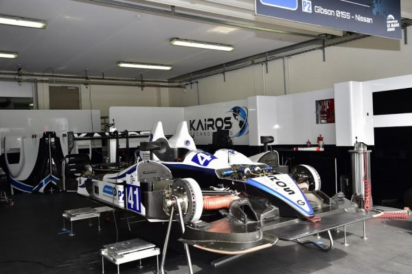 ELMS 2015 PAUL RICARD -Le stand de la GIBSON GREAVES N°41 - Photo Max MALKA