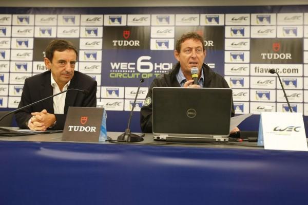 ENDURANCE-WEC-2013-AUSTIN-Conference-de-presse-Gerard-NEVEU-et-Pierre-FILLON
