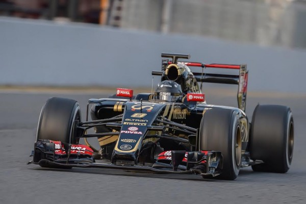 F1-2015-MONTMELO-Test-26-fevrier-ROMAIN-GROSJEAN-Photo-Max-MALKA