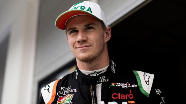 F1 2015 NICO HULKENBERG Portrait Team FORCE INDIA