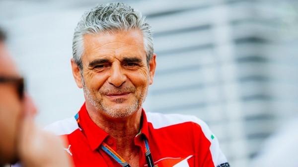 F1 2015 SINGAPOUR -MZAURIZIO ARRIVABENE Le directeur de la SCUDERIA FERRARI.